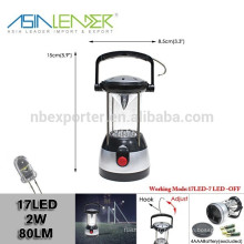 4 lampe de poche rotative à LED à LED AA AA