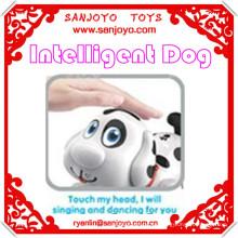 Inteligente perro nuevos juguetes para niños para 2014 eléctrico caminando perro juguete para niños sensor inteligente perro niños juguetes de escalada interior