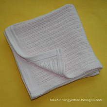 Soft Cotton Cellular Baby Blanket CB-1309102