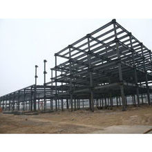 Prefabricated structural steel frame building with high quality and competitive priceNew