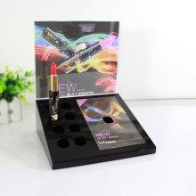 Cheap black acrylic lipstick stand holder