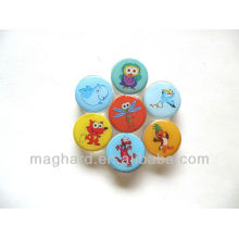 Small Cartoon Acrylic Fridge Magnet Dolphin/Fox/owl/Dragonfly/Crane/Duck