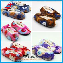2015 lovely super soft best quality warm velvet slipper for kids