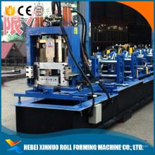 novo design mudança rápida cz purlin intercambiáveis máquina de formação