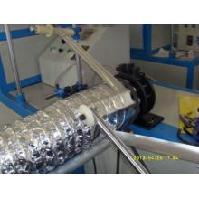 Aluminiumfolie-Draht-runde flexible Kanal-Maschine
