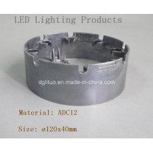 Corpo da lâmpada do diodo emissor de luz / peças de alumínio da liga Die Casting