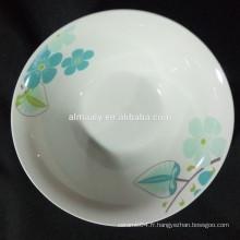 nouveau design bol à salade en porcelaine en gros