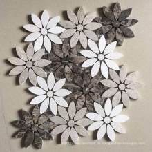 Stein Fliesen Marmor Mosaik