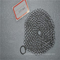 6*8 Stainless steel chainmail scrubber / cast iron cookware