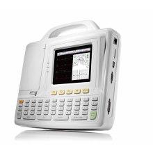 Seis leva canal eletrocardiógrafo ECG Holter ECG máquina tela grande ECG