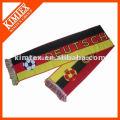 China Großhandel gestrickte Fußball Schal