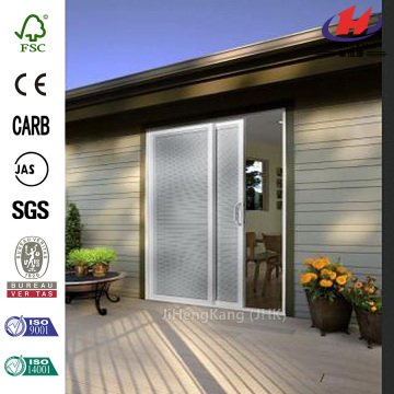 Sliding Vinyl Patio Door with Blinds