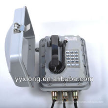 si-aluminium alloy explosion-proof industrial telephone set