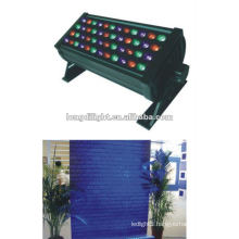 54*3w rgbw led wall washer with IP65 waterproof rate,8 channels,dj effect