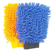 Precio de fábrica nuevo guante de microfibra de limpieza de coches guante de lavado de coches de microfibra