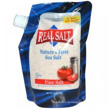 Bolsa de pico para el envasado de sal