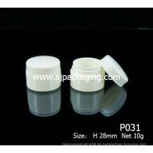 10ml billig Kosmetik-Glas PP Kosmetik Fall recycelt Kunststoff Kosmetik-Gläser