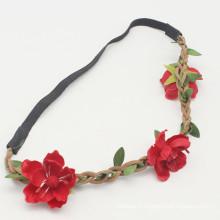 Boucle de fleurs florales à fleurs Boho style féminin (HEAD-284)