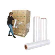 Pack Polyethylene PE Stretch Film for Pallets Transparent PE Stretch Pallet Film Wrap