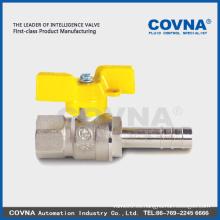 Válvula de gas de cobre amarillo para el surtidor de la porcelana de la estufa