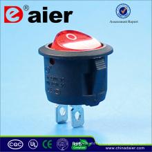Petit interrupteur à bascule cylindrique KCD1-101