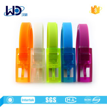 Fashion Rainbow Bridge Silicone Rubber Belts