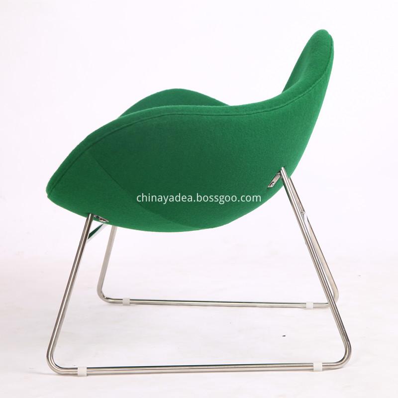 Wool Fabric Chair