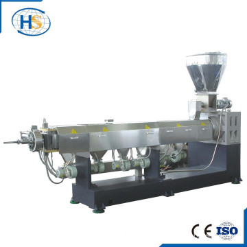 Mini Plastic Masterbatch Granulator Single Screw Extruder Machine