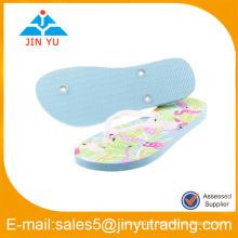 Pantoufles plates en dames fabriquées en Chine