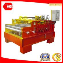 Машина для выпрямления листов с режущим и режущим устройством