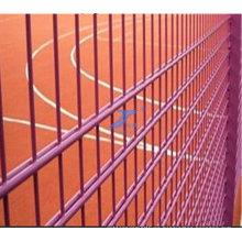 Valla de alambre doble recubierto de PVC para el zoológico