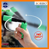 Rechargeable LED Mini Rotating Light Torch with a Glow Circle Attach
