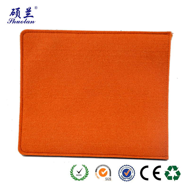 Orange Felt Ipad Bag