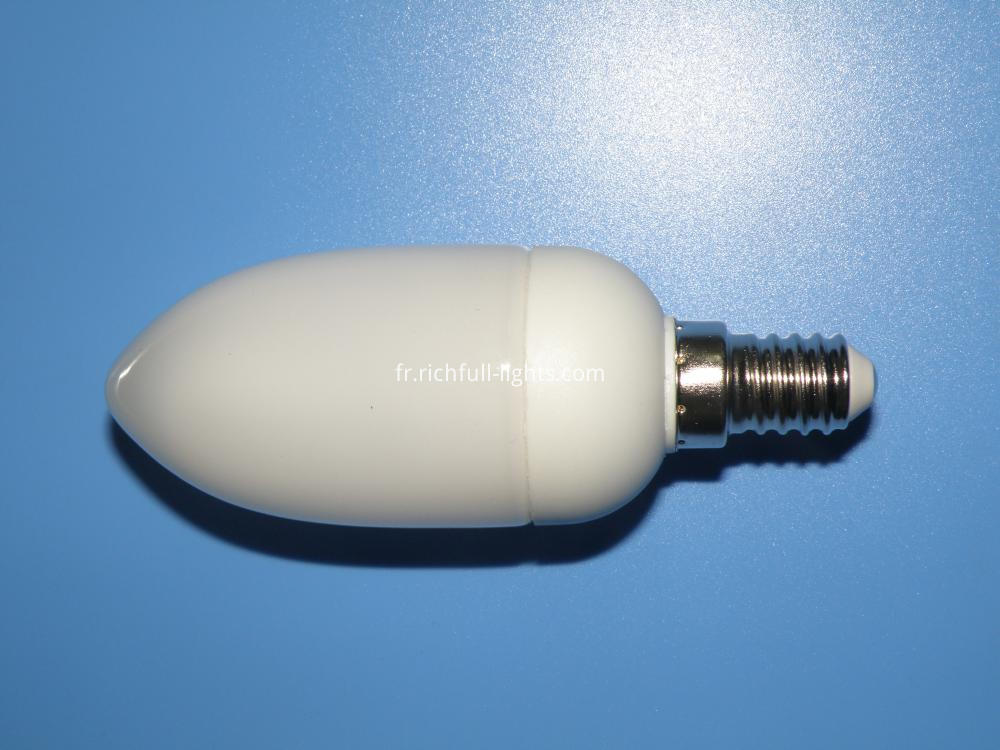candle energy saving bulb