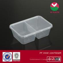Récipient alimentaire en plastique (SK 750 TC avec couvercle)