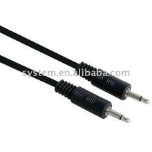 3.5mm mono plug male to 3.5mm mono plug male audio cable
