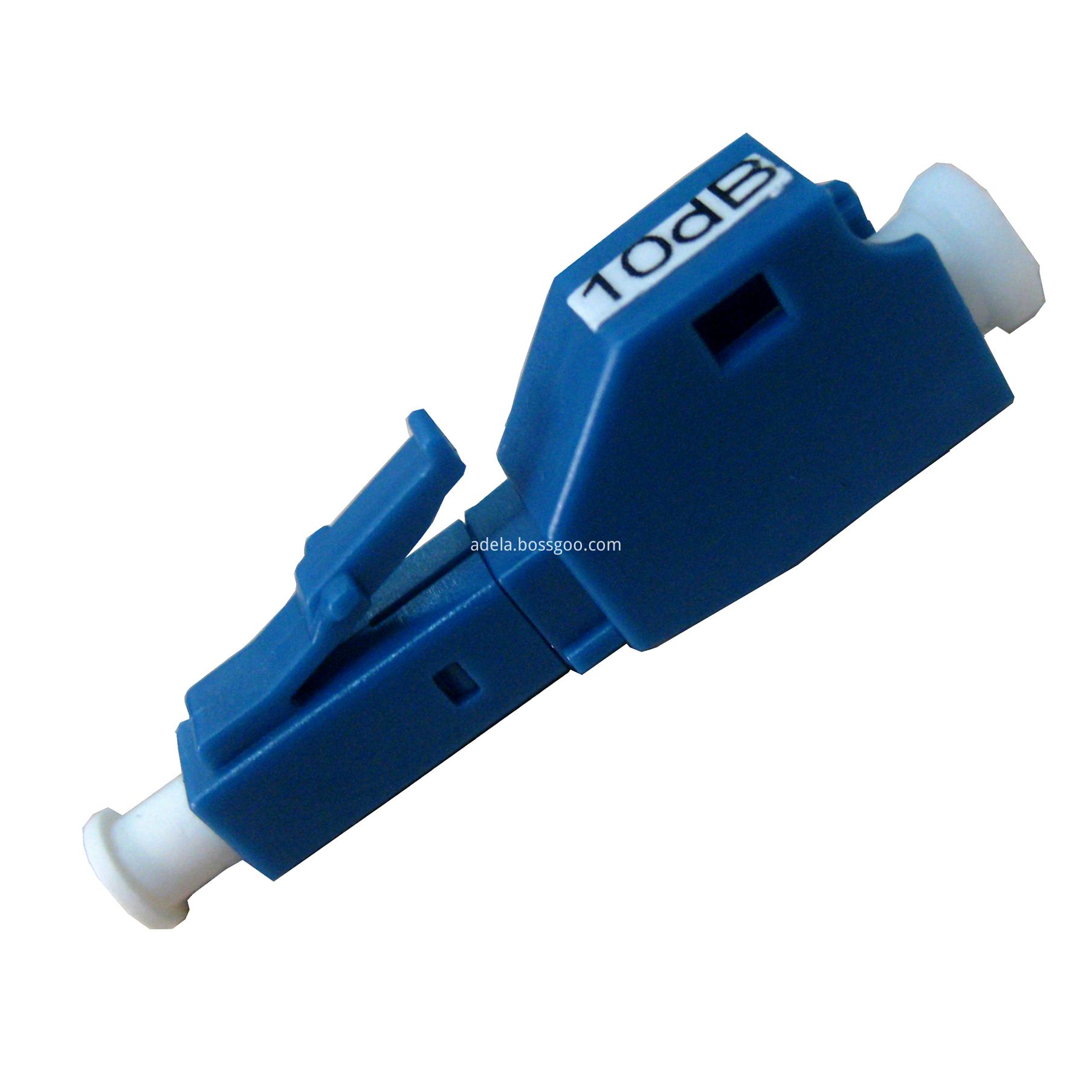 LC fiber optic attenuator