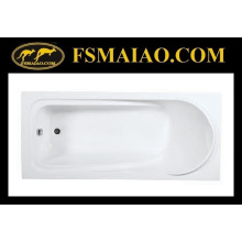 Banheira simples acrílica do encaixe da água da forma (BA-8817)