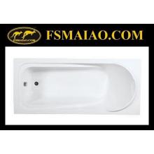 Простая ванна для ванной с акриловой ванной (BA-8817)