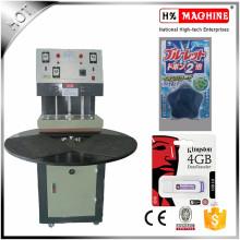 Machine de cachetage de carte de boursouflure de PVC