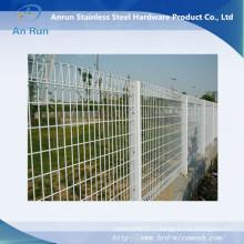 Сварной декоративный проволочный забор с покрытием из ПВХ
