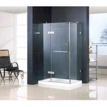 Hinged Shower Enclosure with Frameless RS-R812
