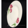 chinese ceramic plate,linyi porcelain plate,high grade porcelain plate