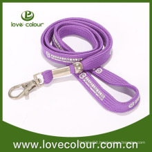 Polyester custom tube lanyards with printing logo
