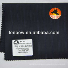 Super100 Diseño de Italia de calidad fina de lana peinada de los hombres