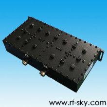 ip66 ip67 590-597MHz 7,0 MHz bandwidth pim valor banda dual bandpass filtro rf