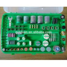 135w ETL GS CE Approval Hobby Power Outils rotatifs Ensemble d'accessoires Electric 217pcs Mini Grinder Kit