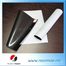 De Boa Qualidade Ímã de borracha flexível forte personalizado com adesivo