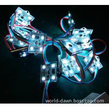 5050 RGB Waterproof 3 LEDs LED Module