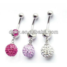 Diamond belly button ring body navel belly ring body jewelry piercing navel piercing